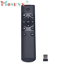 Beautiful Gift New FM4 2.4GHz Remote Control Keyboard Wireless Air Mouse for Android TV BOX  Sep13