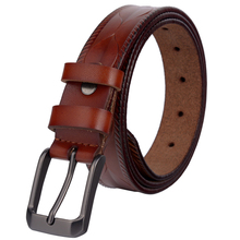 2017 New Brand Belts Luxury Women Belts Real Cow Leather Pin Buckle Original Casual Jeans Straps Female Designer Belts