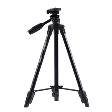 YUNTENG VCT-520RM Portable Camera Tripod Aluminum Alloy Tripod with Universal Smartphone Mount for Sony ILDC Digital Camera(China)