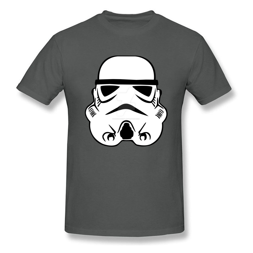 Newest Stormtrooper 10 Short Sleeve T-Shirt Summer/Autumn Round Neck Pure Cotton Tops & Tees for Men Tops Shirt Simple Style Stormtrooper 10 carbon