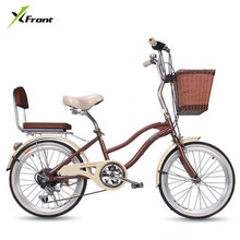 New Brand 20 inch carbon steel frame 6 speed lady's bike outdoor sport Portable children women's bicicletas V/disc brake bicycle
