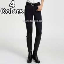 New men women horse riding chaps equitation cheval professional English chaps pants jodhpurs riding-breeches equestrian breeches(China)