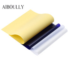 AIBOULLY 20pcs 4 Layer Professional Tattoo Transfer Paper Carbon Thermal Stencil Transfer Paper A4 Copy Tracing Paper Accessory