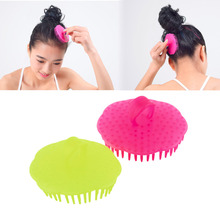Shampoo Washing Hair Massage Brush Massager Comb Scalp Shower Body Random Color Hot Selling