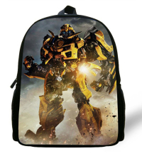 12-inch Bumblebee School Bags Mochilas Transformers Backpacks Boys Favourite Cartoon Bag Transformers.
