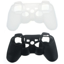 Hot Selling! High Quality Silicone Skin Cover Protective Case For Sony For Playstation 3 for PS3 Controller Wholesale Price Jan4