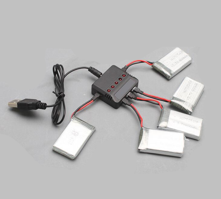 Free Shipping 5 in 1 Battery Charger USB Interface for Syma X5C/X5 Quadcopter Drone Spare Parts Plug<br><br>Aliexpress