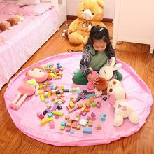 Storage Bag Blanket Polyester Fabric Large Toy Bags Can Be Used When The Carpet Bags For Family Picnic Kids Toy