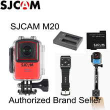 Newtest SJCAM M20 Wifi Gyro Sport Action Camera HD 2160P 16MP 4K Waterproof DV Bluetooth watch self timer lever remote control