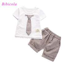Buy BibiCola Baby summer Boys Clothing Set Kids Casual Tracksuit kids Boys 2pcs Sport Suits tops+shorts children Boys Clothes Set for $7.95 in AliExpress store