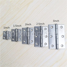 DS515 Four Sizes Choose SUS-304 Stainless Steel Hinges Woodworking Parts Fast Shipping
