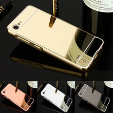 "Fashion Luxury Rose Gold Mirror Case for ZTE Blade V6 D6 X7 Blade D6 Blade X7 5.0"" Cover for ZTE V6 Phone Case"