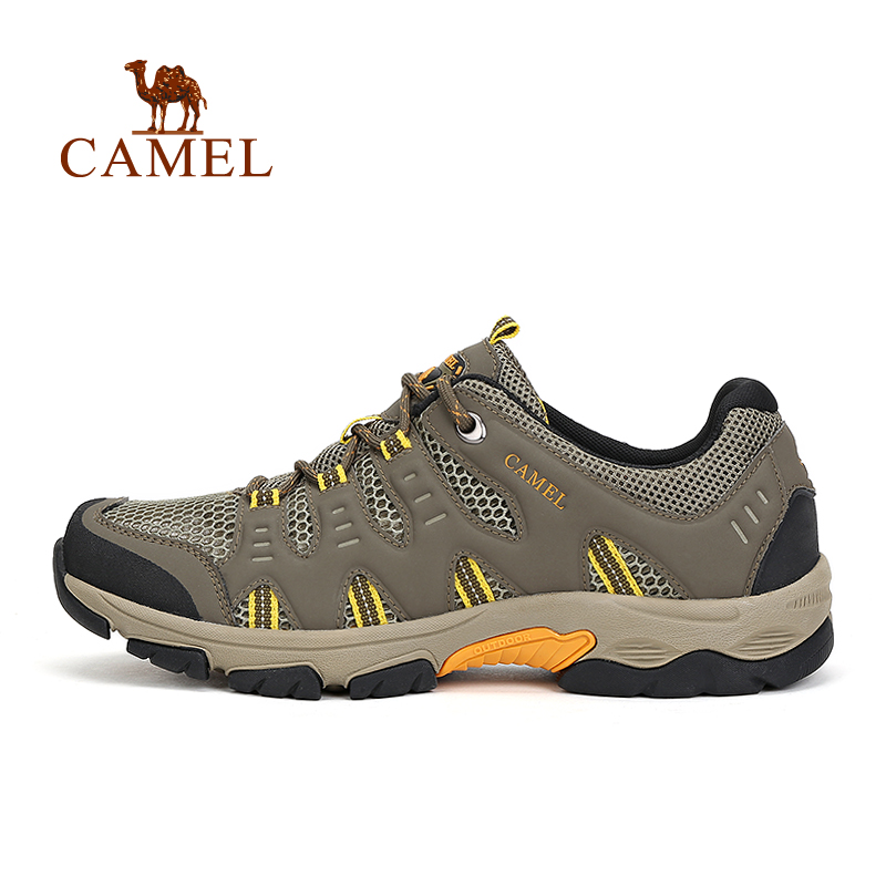 Camel 2016  Outdoor Lovers Hiking Shoes Design Walking Shoes  Low Breathable Sprot Shoes A612326105<br><br>Aliexpress