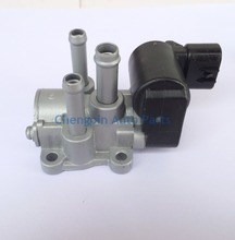 Original IDLE SPEED CONTROL VALVE ASSY L(FOR THROTTLE BODY) OEM#22270-74270 Idle Air Control Valve For TOYOTA CORONA RAV4 CROWN(China)