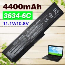 6 cell Laptop Battery pa3634 Toshiba M300 M500 M600 P740 P745 P755 Pro C650 L510 U500 T115D T130 U400 U405 - Golooloo Shopping Mall store