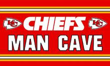 Kansas City Cheifs man cave flag 3ftx5ft Banner 100D Polyester Flag metal Grommets(China)