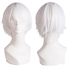 Promotion Short Straight White black purple red Brown orange Many Colors Harajuku Anime Tokyo Ghoul cosplay anime wigs
