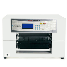 CE approved digital textile tshirt printing machine a3 dtg tshirt printer for sale with low price(China)