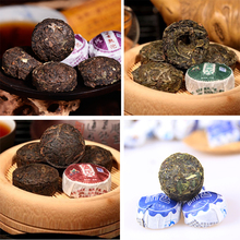 30pcs 4 different Kinds flavors Chinese yunnan puer tea puer ripe pu er tea  gift the puerh tea pu er food lose weight products