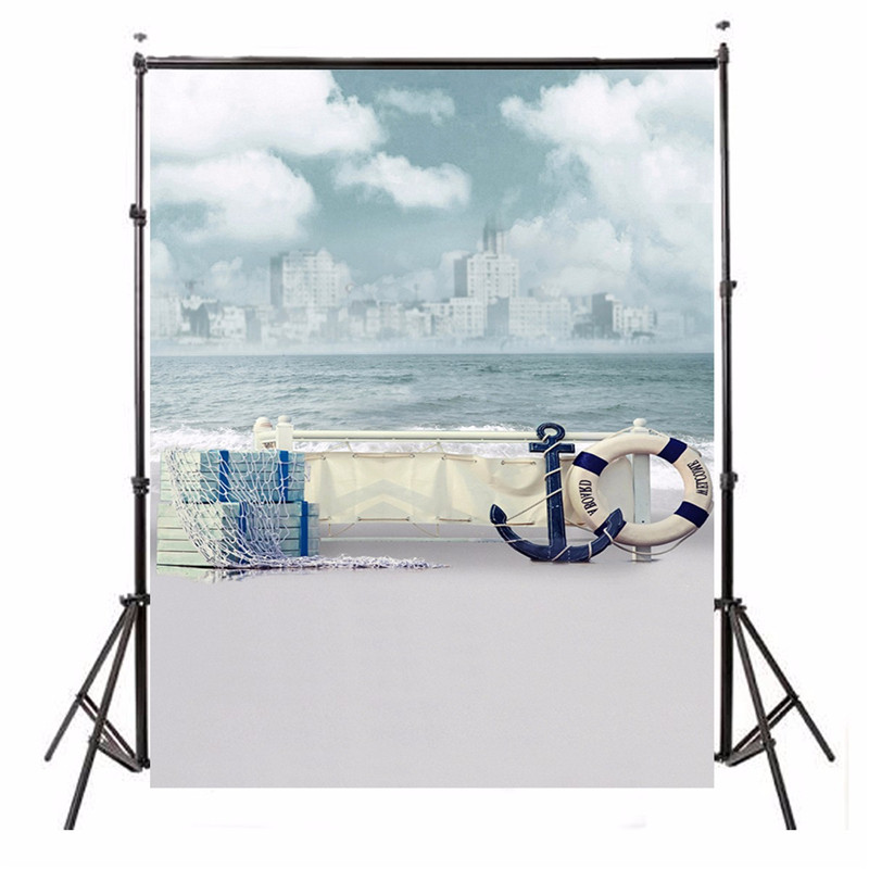 5x7FT Vinyl Steamboat Anchor Studio Floor Photography Background For Studio Photo Props Photographic Backdrops cloth 1.5m x 2.1m<br><br>Aliexpress