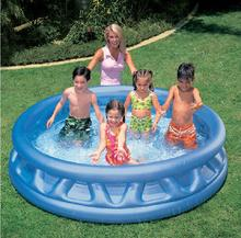 INTEX 58431 children's inflatable baby pool ocean ball pool thickened large family paddling pool adult bath size 188 * 46CM(China)