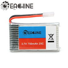 Eachine 3.7V 750mah 25C Lipo Battery For Eachine QX95 QX90 QX80 E30 E30W For Syma X5 X5C X5SC X5SW CX30W