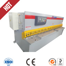 Best selling 4X3200mm hydraulic swing beam steel plate shearing machine with low cost(China)