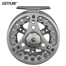 Goture ALC Fly Fishing Reel 3/4 5/6 7/8 WT Aluminum Frame Spool Left Right Hand Die Casting Fly Reel Coil Pesca 2+1BB(China)