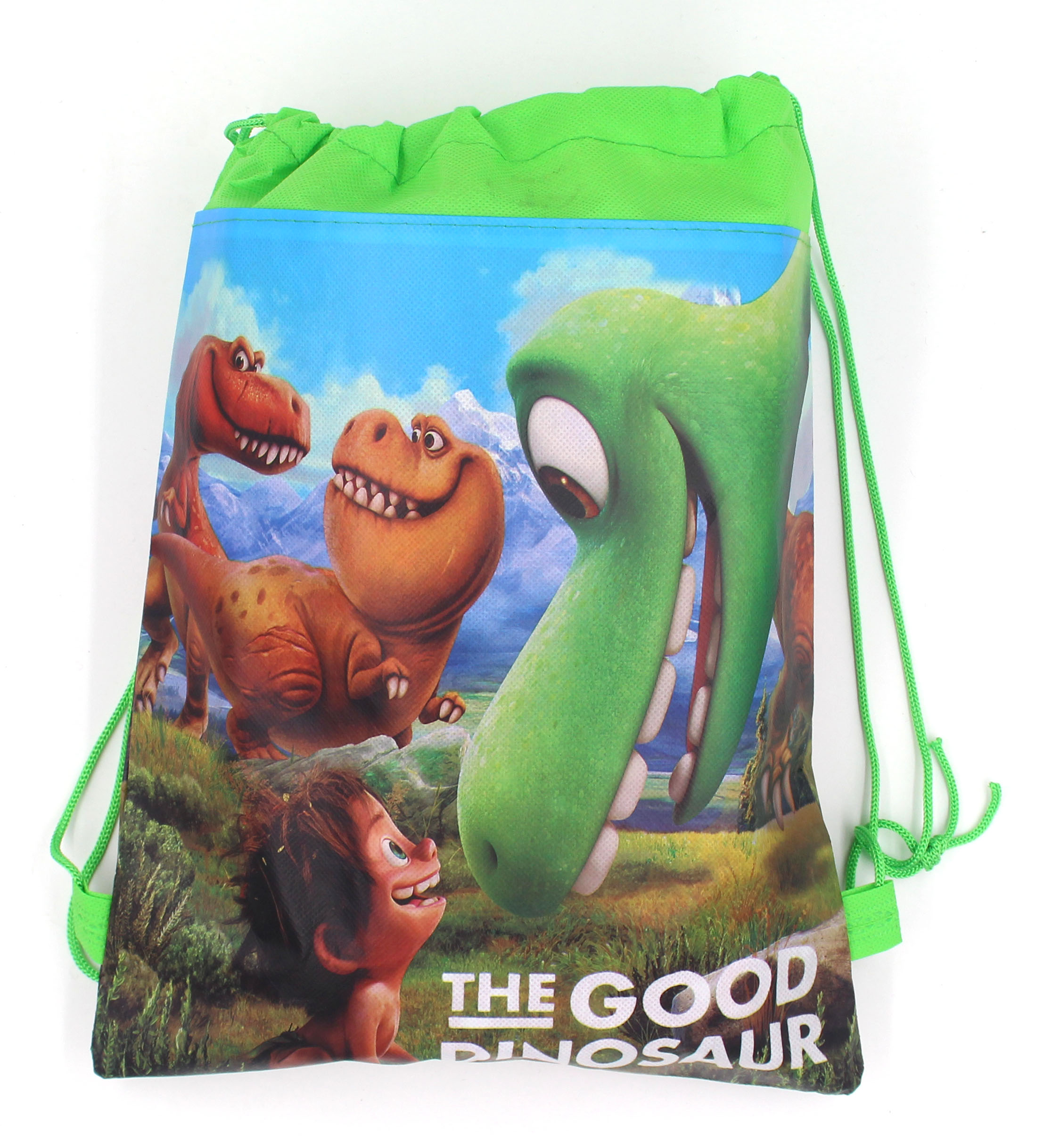 6Pcs New The Good Dinosaur Cartoon Kids Drawstring Printed Backpack Shopping School Traveling Party Bags Birthday Gifts<br><br>Aliexpress