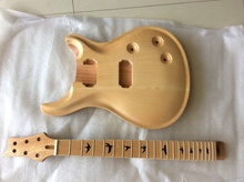One set of electric guitar , guitar DIY , guitar neck and guitar body