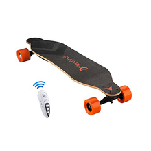 2017 Maxfind Newest Electronic Longboard Skateboard Dual Motors Motorized electric scooter for sale(China)