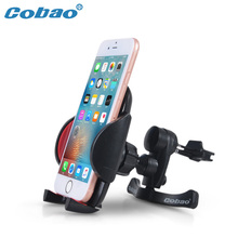 Cobao Universal Car Air Vent Mobile Phone Holder Stand 360 Rotatable Car Cellphone Holder Mount for iPhone Xiaomi Samsung