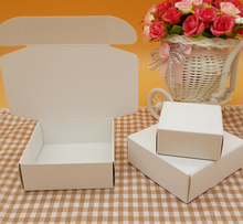 blank white soap small cardboard boxes,small black paper craft box,candy gift packaging boxes(China)