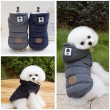 High Quality New Winter Dog Clothing Gray Pet Apparel Modern Stylish Dog Coat Jacket Cotton-padded Clothes for Dogs Pet Product(China)