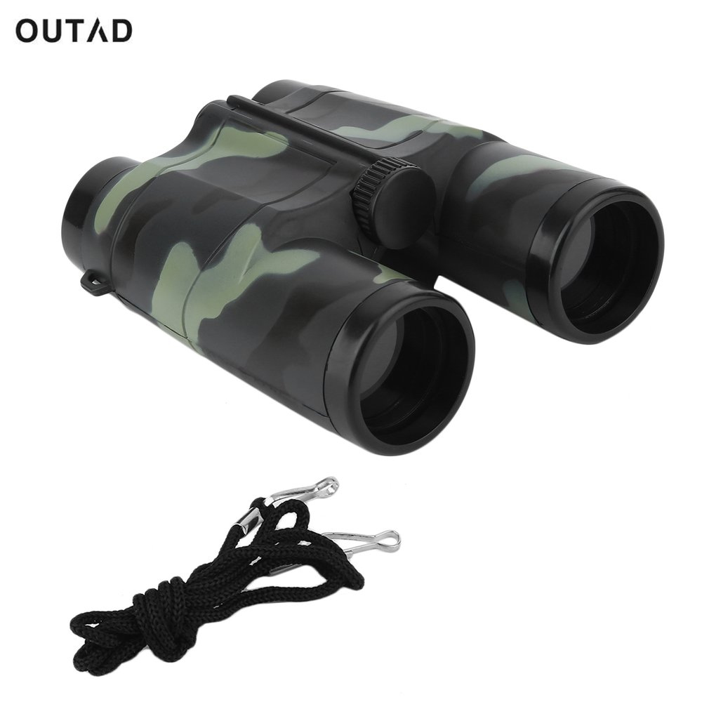 4X35mm Portable Camouflage Binocular Telescope for Children Gift  Kids Mini Folding Binoculars for Hunting 2018 Hot Dropshipping