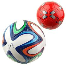 Outdoor Sports Soccer  Portable Football Balls PU Soccer Ball Training Balls Football Official Size 5 race dedicated