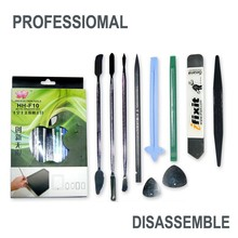5pcs/lot 10 in 1 Cell phone Notebook LCD Tablet Pry the shell Open shell Disassemble Crowbar Repair Tools pro electron tool