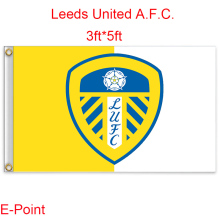England Leeds United A.F.C. decoration Flag A 3ft*5ft (150cm*90cm)(China)