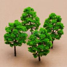 1/150 Scale Model Tree Train Set Plastic Trunks Scenery Landscape HO N - 10PCS(China)