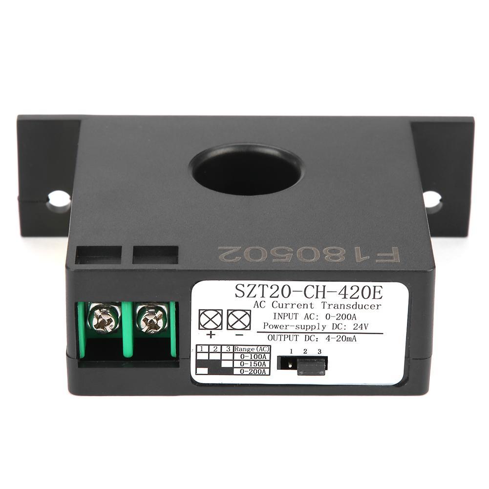 convertidor de corriente-corriente SZT15-CH-420E 0-50A Transmisor de sensor de corriente