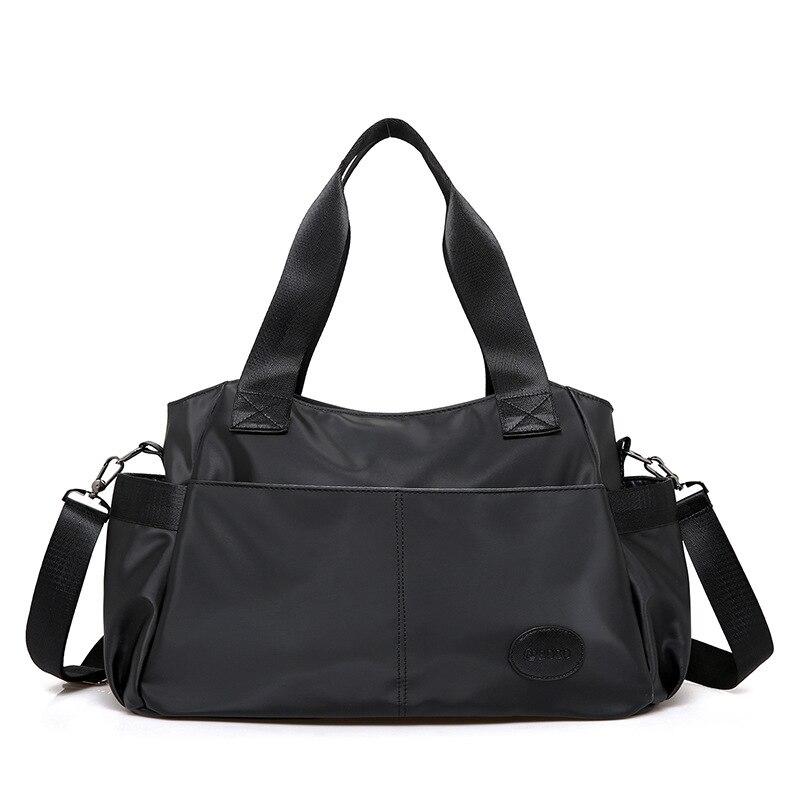 Casual All Match Black Bag Female Luxury Fashion Handbags Women Shoulder Bags High Quality Oxford Hand Bag Large Bolsa Feminina<br>