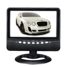 Mini TV Portable Support SD/MMC Card USB Flash Disk 9inch Portable TV Radio DC12V Column Portable Small(China)