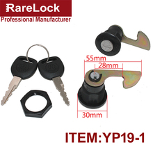 Rarelock Free Shipping Easy Installed Zinc Alloy Black Motorcycle Tail Box Locks With 2keys Motor Accessories a