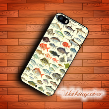 Fundas Australia Fishes Collection Case for iPhone 7 6 6S Plus 5S SE 5 5C 4S 4 Case Cover for iPod Touch 6 5 Case.