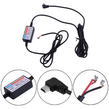 New 1Pcs New Car DVR Power Supply Box Dedicated Vehicle Traveling Data Recorder Charger DC12V - 24V To 5V Step-down Module