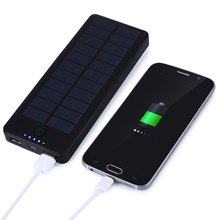 Hot-Selling Reliable Micro USB Rechargeable15000mAh Solar Energy Portable Intelligent Mobile Power Bank Charger For Mobile Phone