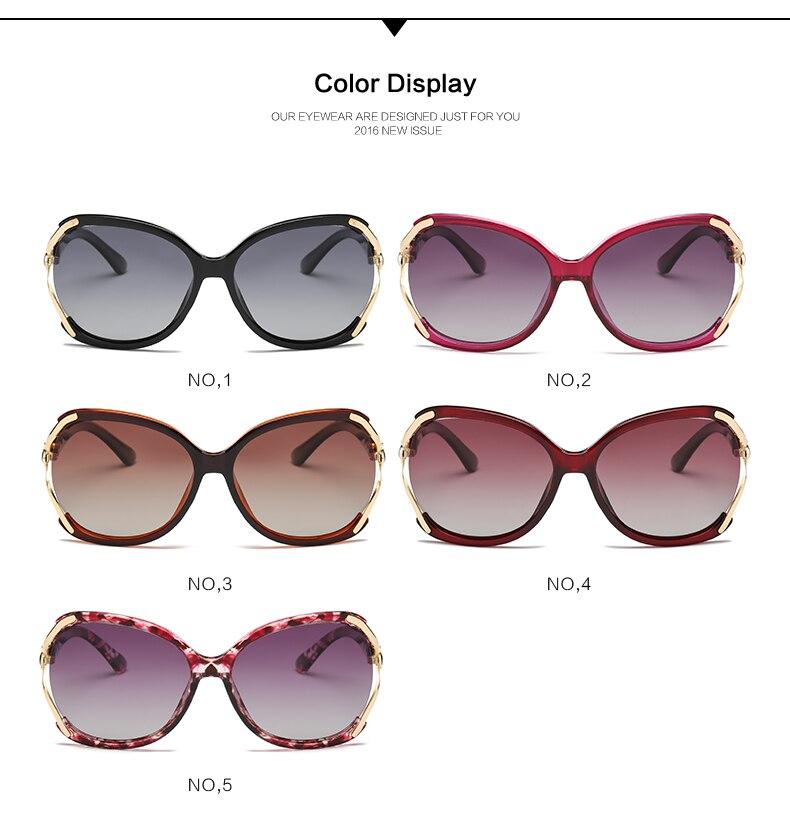 Sunglasses Women Polarized UV400 Retro Brand Designer Oculos Gozluk Reyban Ladies Sun Glasses For Women Polarized Classic Shades