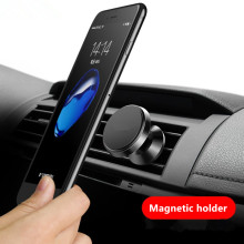 Universal Car phone Holder Magnet Holder Stand for iPhone 6 7 Samsung 360 Degree Mount Holder GPS Magnetic Mobile Phone Holder