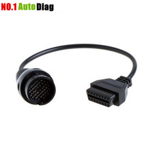Buy VCX MB 38 Pin 16 Pin OBD2 Diagnostic Adapter Mercedes 38pin 16pin cable OBD for $4.59 in AliExpress store