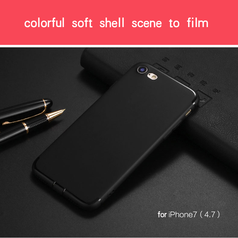 Ultra Thin Phone Cases for iPhone 6 Case 6s Plus Candy TPU Plastic Cover for iphone 7 Case 7 Plus SE 5 5s Cases Silicone Phone 12